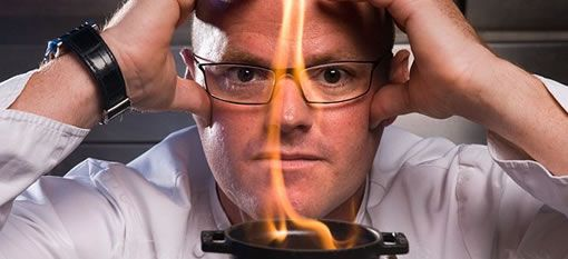 Heston Blumenthal wins Chef of The Decade at the 10th Observer Food Monthly Awards 2013