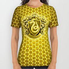Slytherin All Over Print Shirt