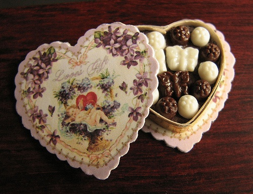 Love's gift by goddess of chocolate, via Flickr