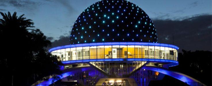 Planetario Galileo Galilei | Sitio oficial de turismo de la Ciudad de Buenos AiresSARMIENTO AV. y ROLDAN, BELISARIO AV.Teléfono 4771 6629 Webwww.planetario.gov.ar