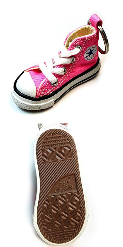 66eb888675c4 Converse Key Chain All Star Chuck Taylor Sneaker Keychain Authentic (Pink)