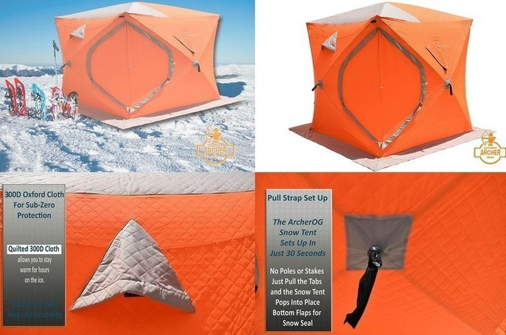Bodhi #Ice #Fishing #Shelter 300D Oxford #Waterproof #Windproof Snow and Ice Tent for the serious fisherman. Be prepared for the next winter fishinu2026 & Bodhi #Ice #Fishing #Shelter 300D Oxford #Waterproof #Windproof ...