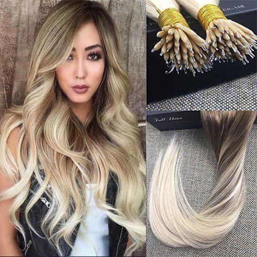 Nano Blonde Remi Human Hair Extensions | Fullshine – Full Shine