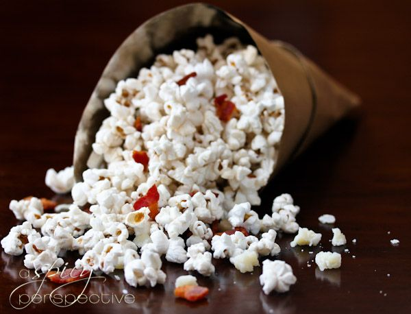 Bacon and Pecorino Popcorn | A deliciously sinful Popcorn Recipe with ...