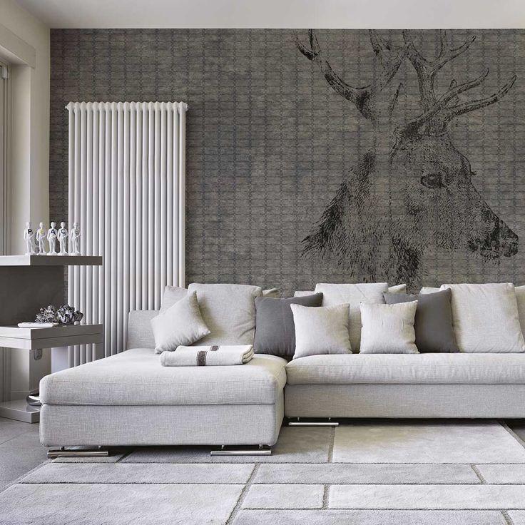 Papier-Peint Yo2, des panoramiques et imprimés dans l'air du temps, à l'effet patiné par le temps, j'adore I Yo2 wallpapers I www.yoyo-design.com