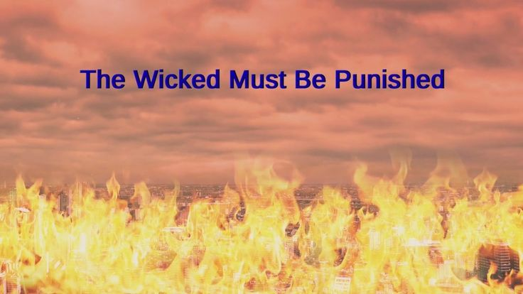 "Almighty God's Word ""The Wicked Must be Punished"" 