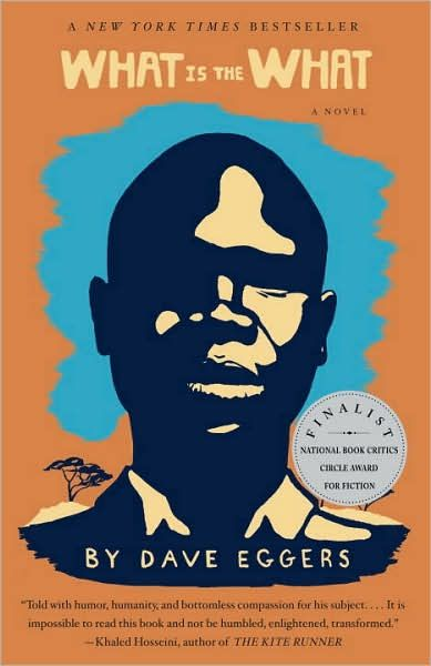 What Is the What by Dave Eggers - follows Valentino Achak Deng a courageous Sudanese refugee. Disturbing and Life-affirming.