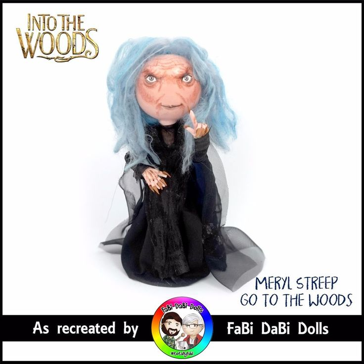 meryl streep go to the woods - into the woods sondheim doll by fabi dabi dolls available now on our ebay store