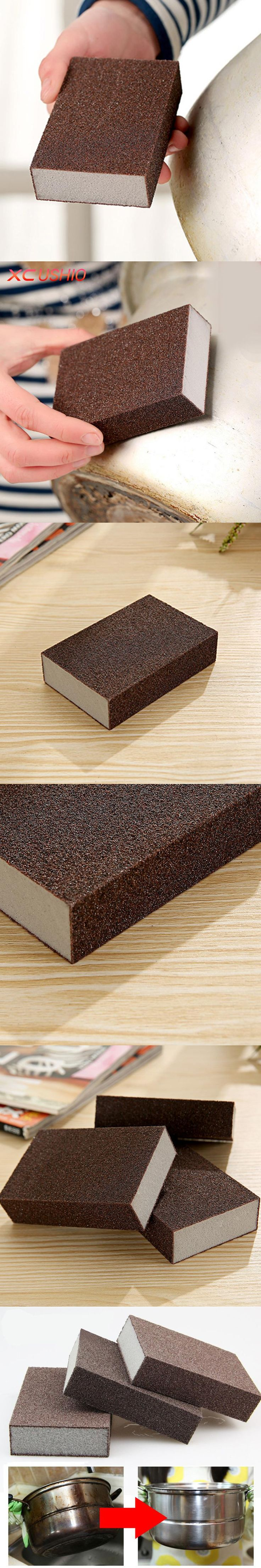 The 25 best removing rust ideas on pinterest remove rust from 1pc high density nano emery magic sponge super strong kitchen removing rust sponge eraser descaling cleaning dailygadgetfo Image collections
