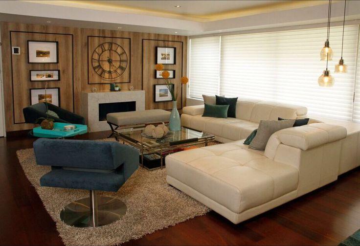 Living room design. Diseño interior de Sala principal