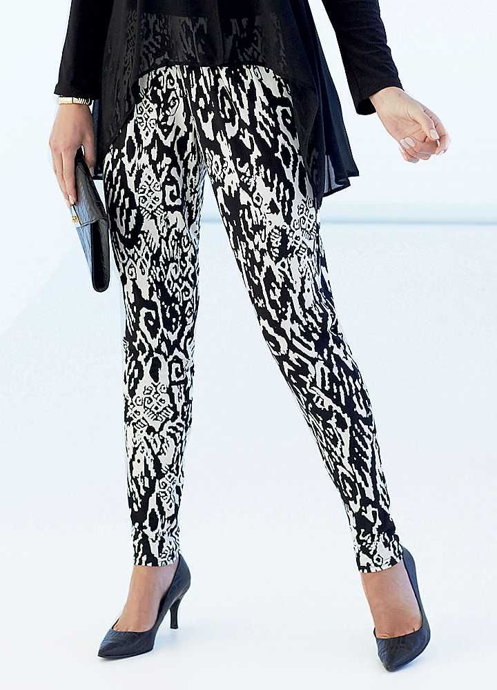 Print Trousers
