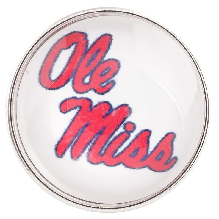 #37465 - Snap Jewelry - Snap - Ole Miss Rebels