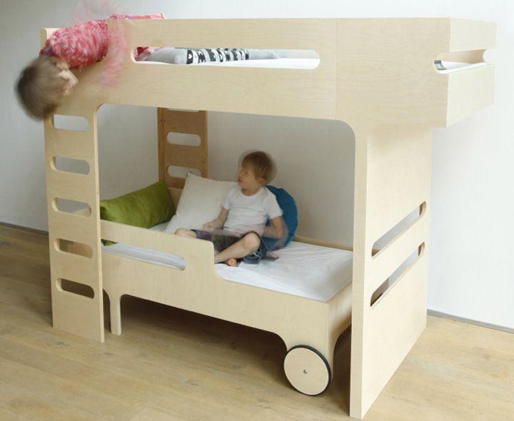 1000 id es sur le th me doubles lits en hauteur sur pinterest chambres partag es lits. Black Bedroom Furniture Sets. Home Design Ideas