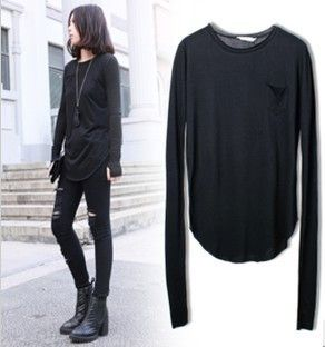 Isla Basic Long Sleeve Top $39.00 http://www.helloparry.com/collections/july-arrivals/products/isla-basic-long-sleeve-top