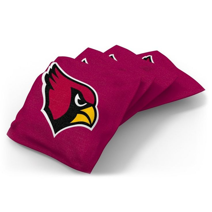 Wild Sports Arizona Cardinals Regulation Cornhole Bean Bag Set 4 Pack