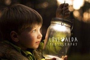 children photography woods gnome magical catching fireflies boys 'got him'