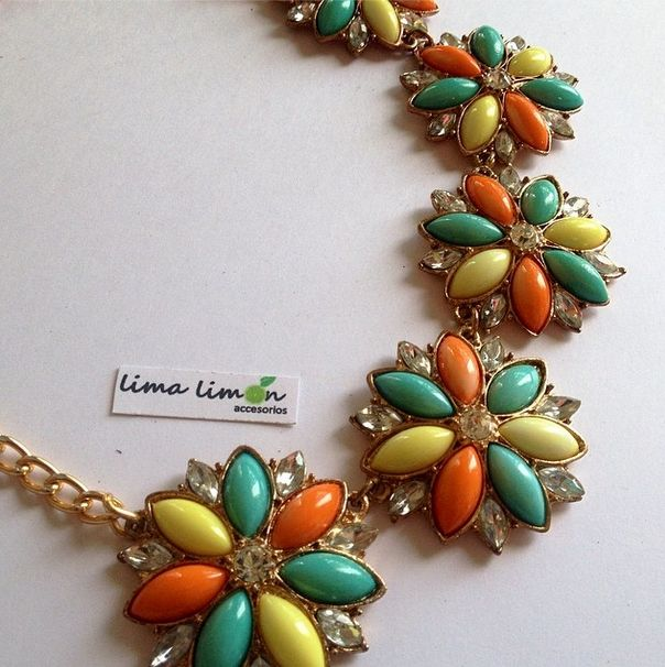 21 Best Statement Necklace Images On Pinterest: 19 Best Collares Hermosos Images On Pinterest