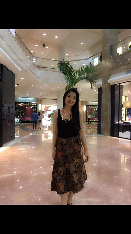 Sunday batik outfit
