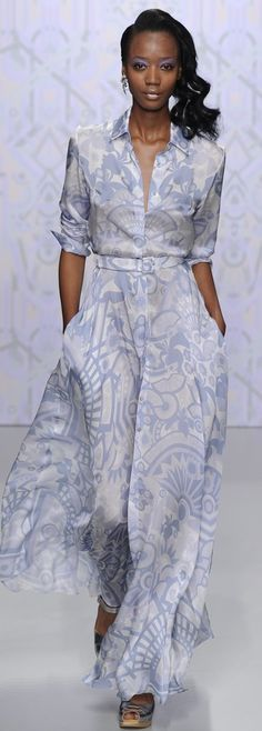 Holly Fulton RTW Spring 2014 - this is the sort of easy breazy coolness that I'll never be capable of, but whatever.