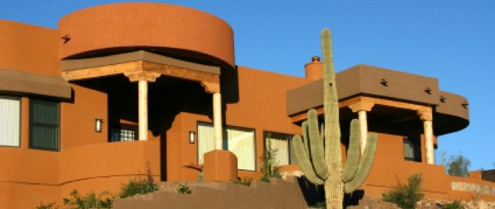 30 best images about southwest pueblo style homes on pinterest - Pueblo adobe houses property ...