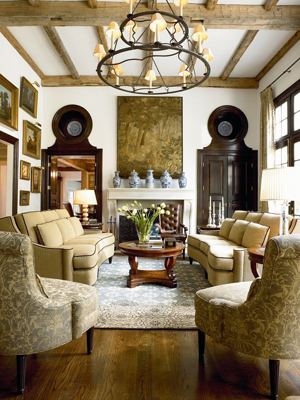 Deschanel Living Room Furniture From Thomasville With Monaco Sofa I Like  The Accent Chairs And Material. I Like The Hues In This Room. Part 88