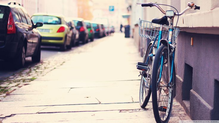 bicycle lonely hd wallpaper