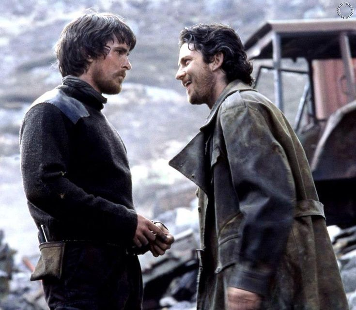 "I love both Quinn Abercromby (Christian Bale) and Creedy (Gerard Butler) from ""Reign of Fire"""