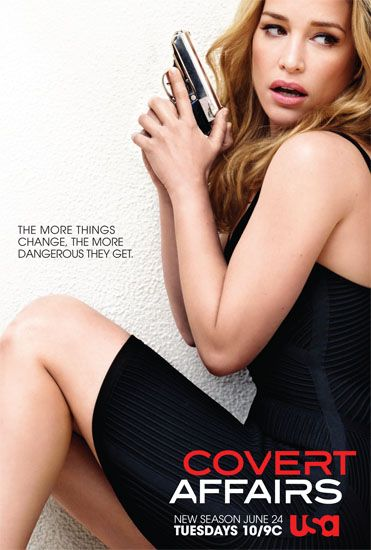 Exclusive First Look: Check Out Covert Affairs' Sexy (And Dangerous!) New Poster - Today's News: Our Take | TVGuide.com