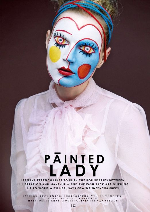 The Sunday Times Style Magazine UK March 2015 | Guinevere Van Seenus by Yelena…