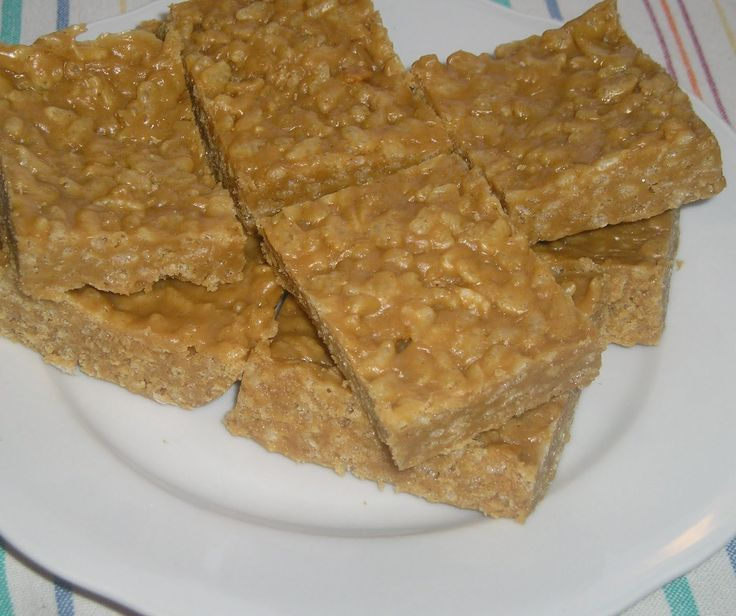 Peanut Butter Rice Krispy Treats. | Sweet! | Pinterest | Butter ...