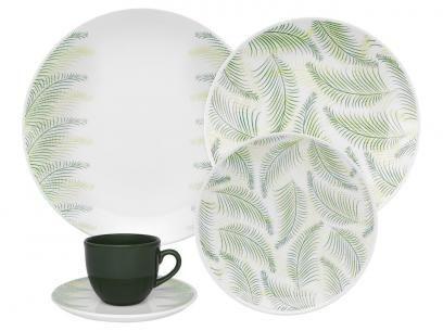 Aparelho de Jantar Chá 30 Peças Oxford - Porcelana Redondo Estampado Coup Fresh com as melhores condições você encontra no Magazine Ofertassoonline. Confira!