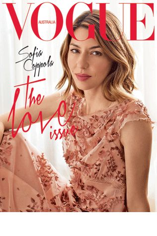Sofia Coppola on the cover of our August 2013 issue.