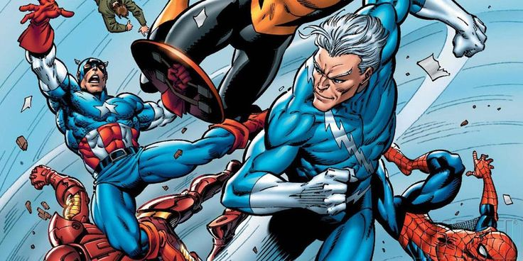 New Quicksilver Comic Freezes Marvels Universe in Time