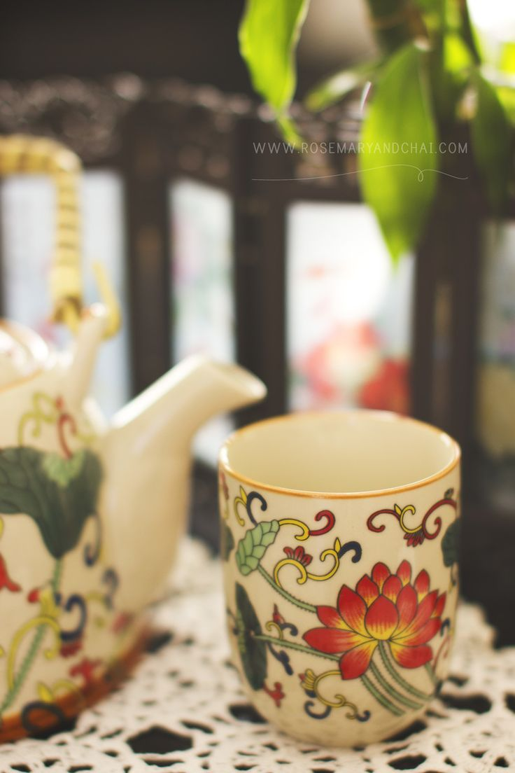 Oriental teacup <3