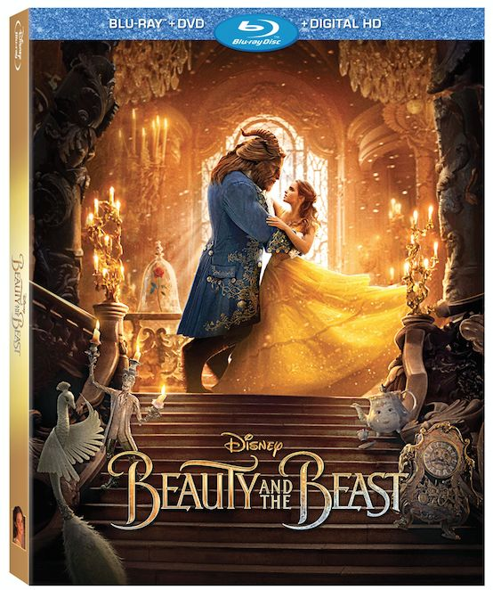 Disney's Beauty and the Beast is available on Blu-Ray now. Get your copy today!