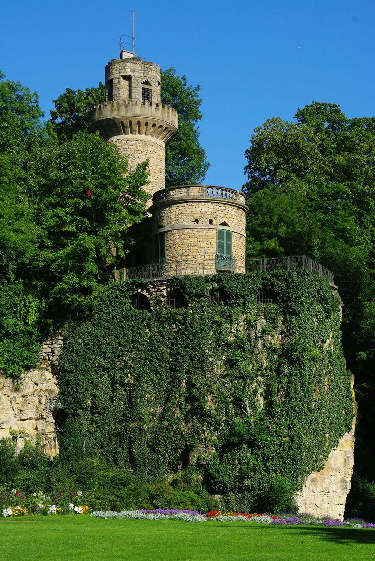 Rapunzel's Turm im Maerchengarten, Ludwigsburg - Germany