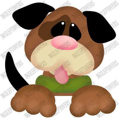 S~ PUPPY DOG ~ Scrapbook Embellishment TB629