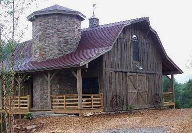Rustic old barn with stone...I WOULD LIKE TO TURN HIS INTO A HOME...                                                                                                                                                                                 More
