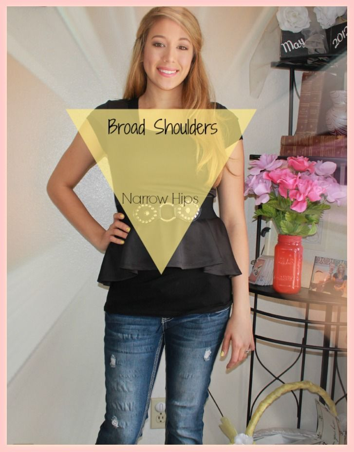 Dressing For Your Body Type Inverted Triangle