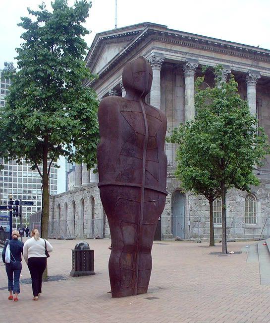 Statues around Birmingham, UK – Victoria Square