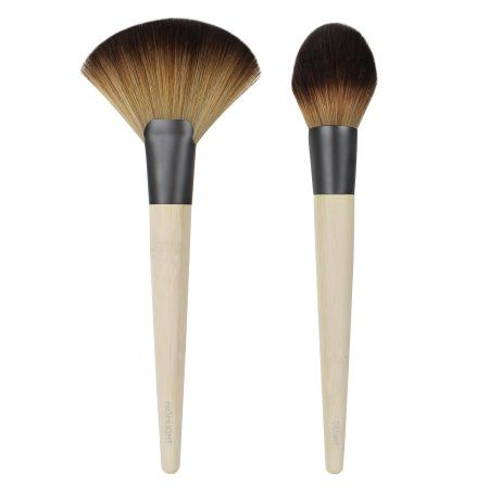 Ecotools Define & Highlight Duo Makeup Brushes, Multicolor