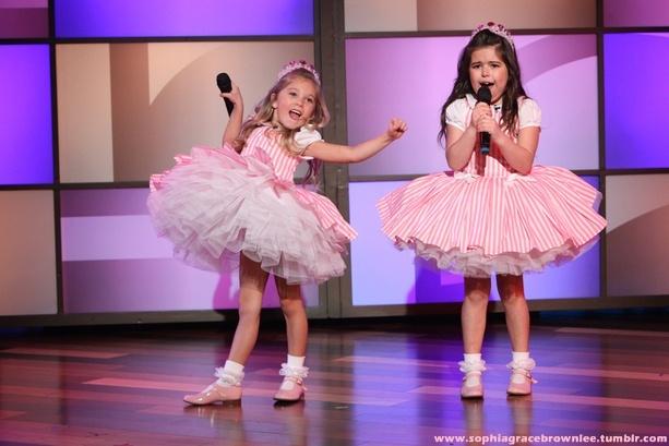 "Performing on ""Ellen."""