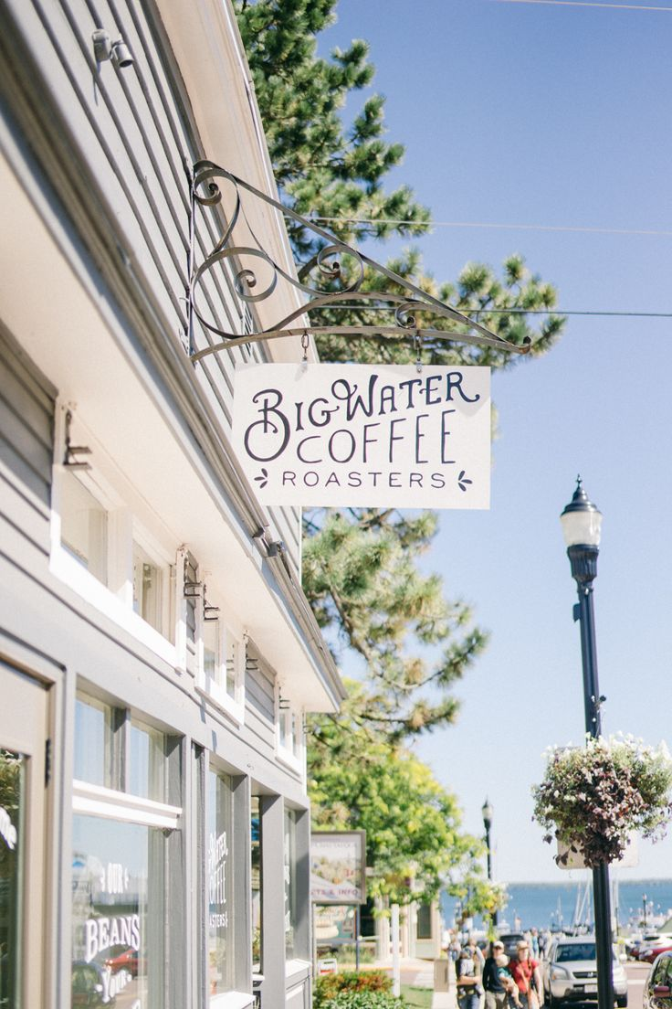 big water coffee roastes > bayfield, wi visited: