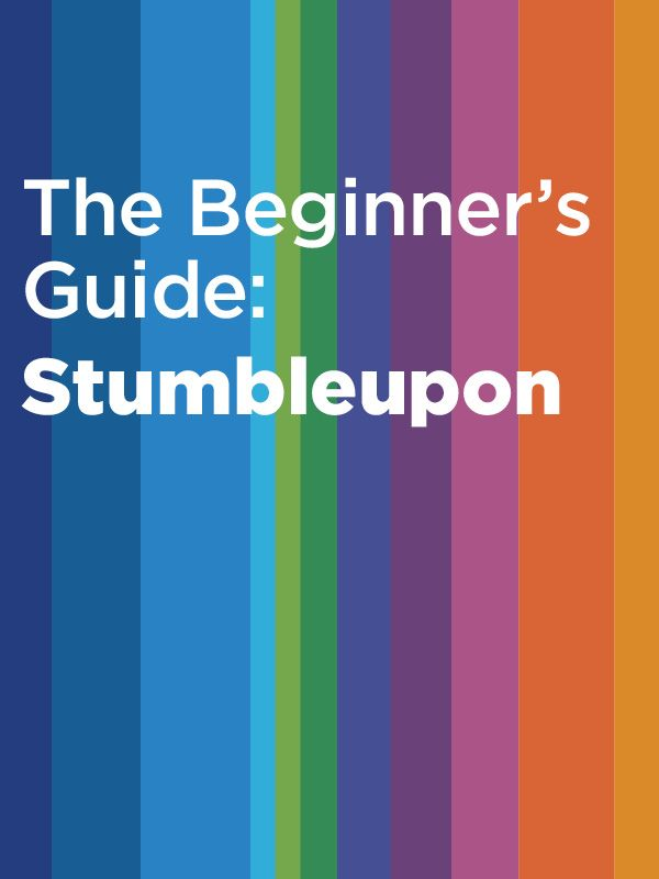 StumbleUpon is a great social network for discovering cool new content. Here's how to get started.