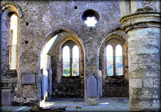 Medieval ruins, St Mary's church, New Ross, Co. Wexford