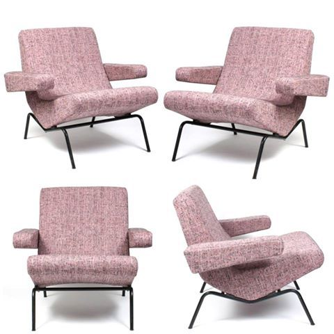 411 best images about mid century pink on pinterest pink for Iconic mid century modern furniture