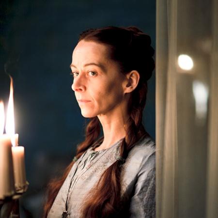 Kate Dickie as Lysa Tully (née Arryn), sister of Catelyn Stark