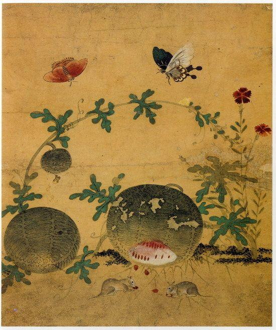 Artist of the month: Woman of inspiration, Shin Saimdang  'Chochungdo'