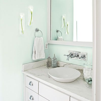 46 Best Blue Bathrooms Images On Pinterest Bathroom