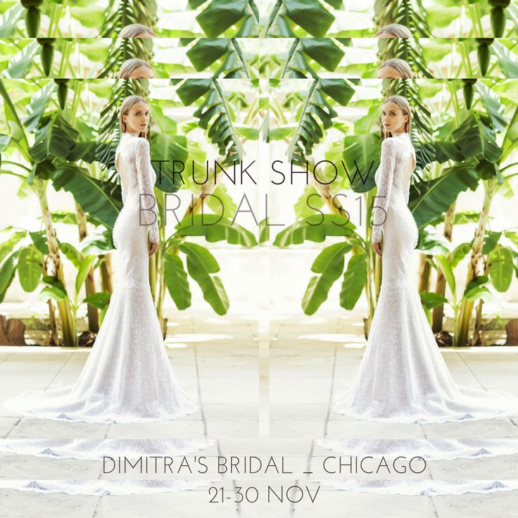 Don't miss our upcoming #Bridal #SpringSummer2015 #TrunkShow at Dimitra's Bridal in #Chicago! #madeingreece #dridetobe #christoscostarellos #costarellos #costarellosbride #fashionnews #bridalgown #bridaldress #bridalmarket #madeingreece #lace #weddingideas #luxury #luxurywedding #lux #instafashion #fashion #brides #instabride #bridalchic #perfectwedding #perfectweddingdress #bridetobe #bridalcouture #chicagofashion #chicagobride #chicagochic #chicagowedding